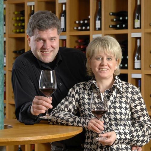 Jana und Lutz Kühnel - in Sachen Wein die Nummer 1